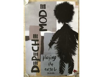 Depeche Mode - Playing the Angel (promoaffisch)