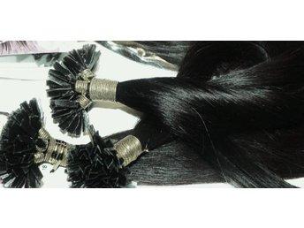 25 st nagelslingor 68/70 CM LÅNG äkta remy hår #01 svart - Veinge - 25 st nagelslingor 68/70 CM LÅNG äkta remy hår #01 svart - Veinge
