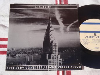 "SECRET SERVICE - NIGHT CITY 7"" 1986"