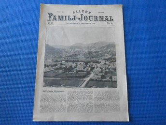 Allers Familj-Journal nr 44 1912 Montengro