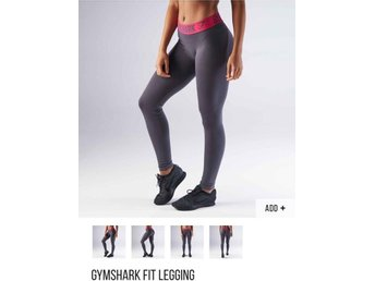 NYA med tags! Gymshark fit leggings stl S, SLUTSÅLDA!