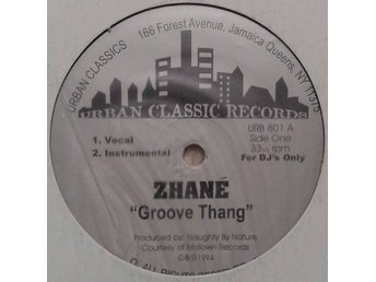"Zhané title* Groove Thang *House 12"" US"