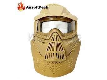 Paintball mask - Beige