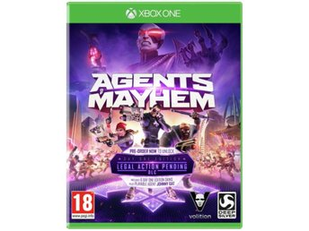 Agents of Mayhem XBO