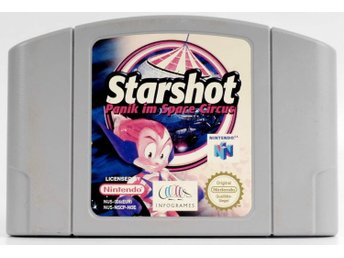 Starshot: Space Circus Fever - N64 - PAL (EU)