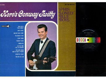 CONWAY TWITTY - HERE'S CONWAY TWITTY