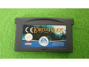 Lord of the Rings The Two Towers+ Manual Gameboy Advance Nintendo GBA