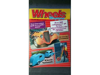 Wheels nr 9 1988: Ford Mustang 1967-1974, Tucker Torpedo, Corvette ZR1 1989