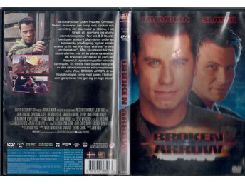 DVD-film BROKEN ARROW med John Travolta.