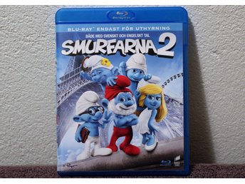 SMURFARNA 2   BLU-RAY