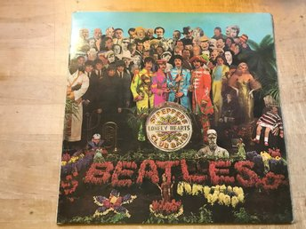BEATLES THE - SGT. PEPPER´S LONELY HEARTS CLUB BAND LP 1967 FÖRSTA PRESS