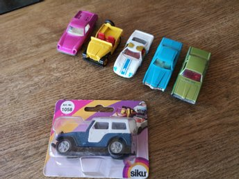 MATCHBOX LESNEY FORD GT ,LOTUS EUROPA, MERCURY