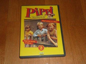 Dvd Pippi Langstrump 2 Tv Serie 365730336 ᐈ Kop Pa Tradera