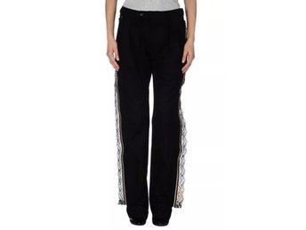 Bless no. 46 Margiela Black Cotton w/ Lace Pants Trousers