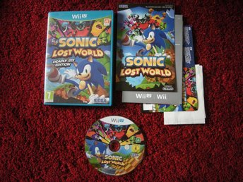 Wii U Sonic Lost World
