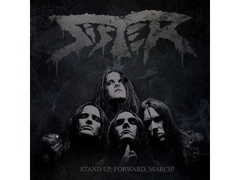 SISTER-Stand Up,Forward,March!-Ny LP LTD 1000 Ex Black 180g-Swedish Heavy Metal