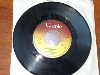 "THE CHEQUERS Hey miss payne, 7"" Creole UK 1976"