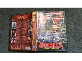 Godzilla Ultimate Collection Box - 6 Filmer - Svensk text.