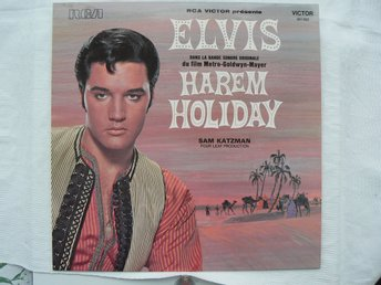 LP : Elvis Presley - Harem Holiday Film LP RCA Victor 461 022  (1974) Helt Ny