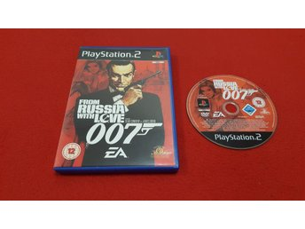 007 FROM RUSSIA WITH LOVE till Sony Playstation 2 PS2