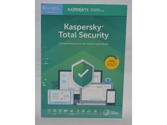 Kaspersky Total Security 2019 Multi Device, 3 PC, 1 År
