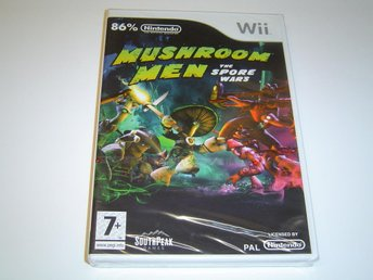 Mushroom Men The Spore Wars Nintendo Wii *NYTT*