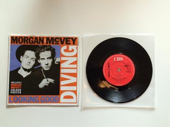 "Morgan Mcvey - Looking good diving 7"" vinylsingel med poster"