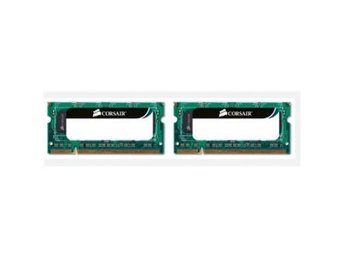 Corsair 8GB (2-KIT) DDR3 SO-DIMM Apple-OK, 1066Mhz FRAKTFRITT
