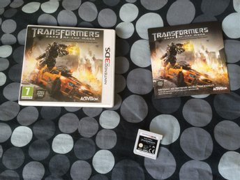 TRANSFORMERS DARK OF THE MOON NINTENDO 3DS FINT SKICK
