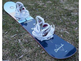 Fynd! Burton Barracuda 149 snowboard med Burton Lexa bindning. - Uddevalla - Fynd! Burton Barracuda 149 snowboard med Burton Lexa bindning. - Uddevalla