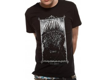 GAME OF THRONES - WIN OR DIE T-Shirt - X-Large