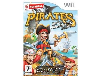 PIRATES – HUNT FOR BLACKBEARD'S BOOTY /BLACKBEARDS (komplett) till Nintendo Wii