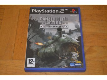 Panzer Elite Action - Field Of Glory - Playstation 2 PS2