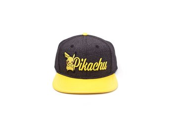 Keps - Pokemon - Pikachu Embroidered Snapback