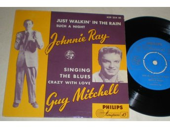 Johnnie Ray / Guy Mitchell EP/PS 1957