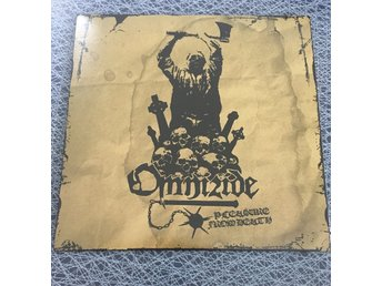 "Omnizide – Pleasure From Death 7"" VINYL / craft"