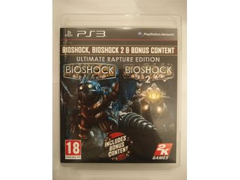 Bioshock Ultimate Rapture Edition KOMPLETT PS3 Playstation 3 Bioshock 1 & 2