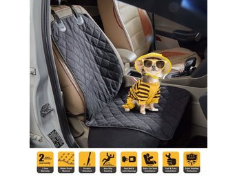 Waterproof Front Seat cover for Dog Pet With Nonslip Rubber Backing Front Seat