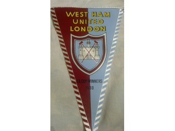 WEST HAM UNITED LONDON - F.A. CUP WINNERS 1980 - Vimpel vintage