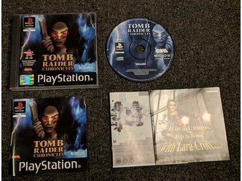 PS1/Playstation - Tomb Raider Chronicles - PAL/EU komplett