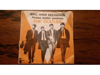 Beatles,single,Denmark,Roll over beethoven