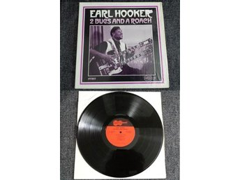 Earl Hooker 2 Bugs And A Roach Arhoolie 1044 Original Pressing ...1968