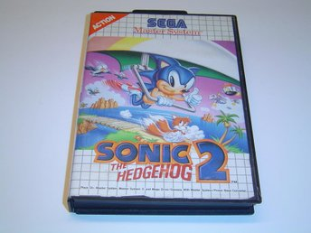 Sonic the Hedgehog 2 Sega master System Komplett
