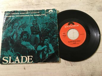 "7"" Slade - Get Down And Get With It Swe Orig-71 !!!!!"