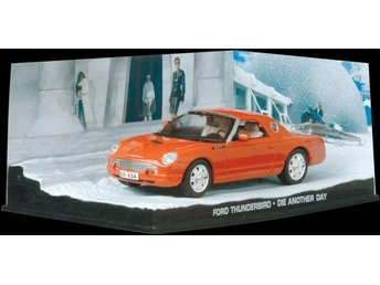 James Bond Collection - 1/43 scale - Ford Thunderbird - Die another day