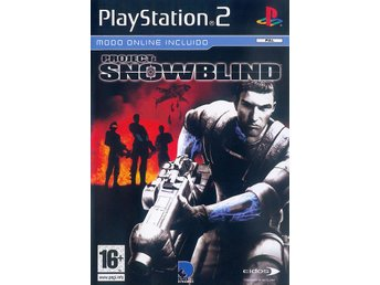 Project; Snowblind - Playstation 2 - Varberg - Project; Snowblind - Playstation 2 - Varberg