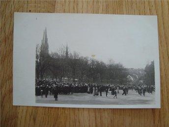 Brevkort Uppsala tidigt 1900 Privattaget Fotovykort - Landskrona - Brevkort Uppsala tidigt 1900 Privattaget Fotovykort - Landskrona