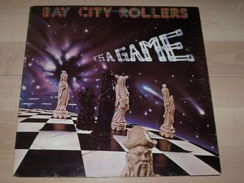 Bay City Rollers, It's a game, fold out sleeve, vinyl LP, nyskick