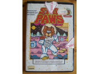 ***STAR PAWS – COMMMODORE 64 + 128 – 1987***