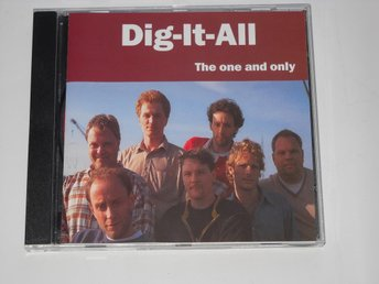 DIG IT ALL - THE ONE AND ONLY (CDEP) SVENSK PRIVAT PRESS -98